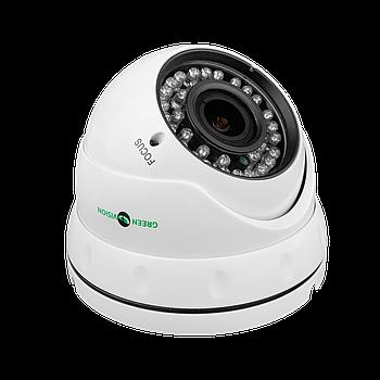 Антивандальна IP камера GreenVision GV-055-IP-G-DOS20V-30 POE