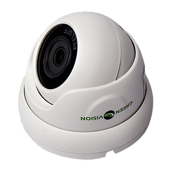Антивандальна IP камера Green Vision GV-099-IP-E-DOS50-20 POE 5MP