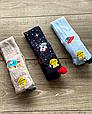 Детские демисезонные колготки KBS хлопок для мальчиков микс цветов с космическим рисунком, фото 5