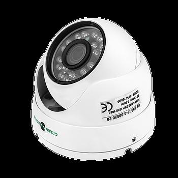 Антивандальна IP камера GreenVision GV-053-IP-G-DOS20-20 POE