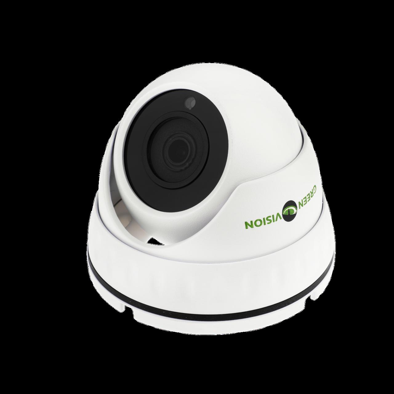 Антивандальная IP камера GreenVision GV-057-IP-E-DOS30-20