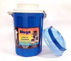 Изотермический контейнер 4,8 л синий, Mega
