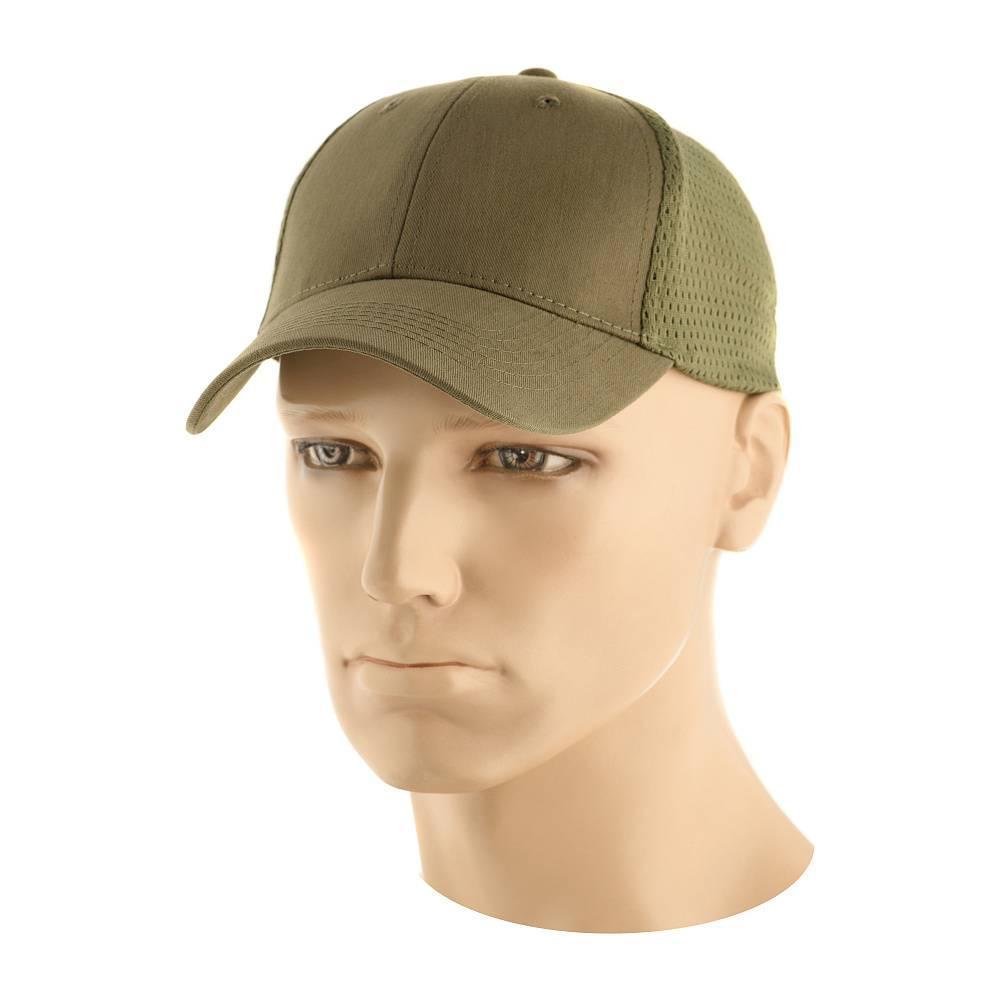 M-Tac бейсболка-кепка с сеткой (олива)