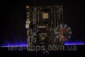 Комплект на 4 видеокарт , Плата Gigabyte 970 AM3+ + Athlon + DDR3 4GB