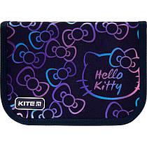 Пенал без наповнення Kite Education Hello Kitty HK21-621, 1 відділення, 1 закот