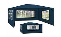 Садовый павильон шатер 3х4м 4 стенки 4 цвета