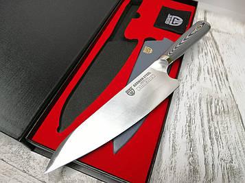 Нож шеф-повара из специальной стали Gräwe, лезвие 20,5 см в подарочной коробке