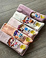 Дитячі демісезонні колготки KBS бавовна для дівчаток асорті кольорів з малюнком модних ляльок розмір 5, 7 років, фото 4