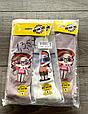 Дитячі демісезонні колготки KBS бавовна для дівчаток асорті кольорів з малюнком модних ляльок розмір 5, 7 років, фото 3