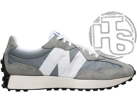 Жіночі кросівки New Balance 327 Grey Haki MS327LAB, фото 2