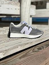 Жіночі кросівки New Balance 327 Grey Haki MS327LAB, фото 3