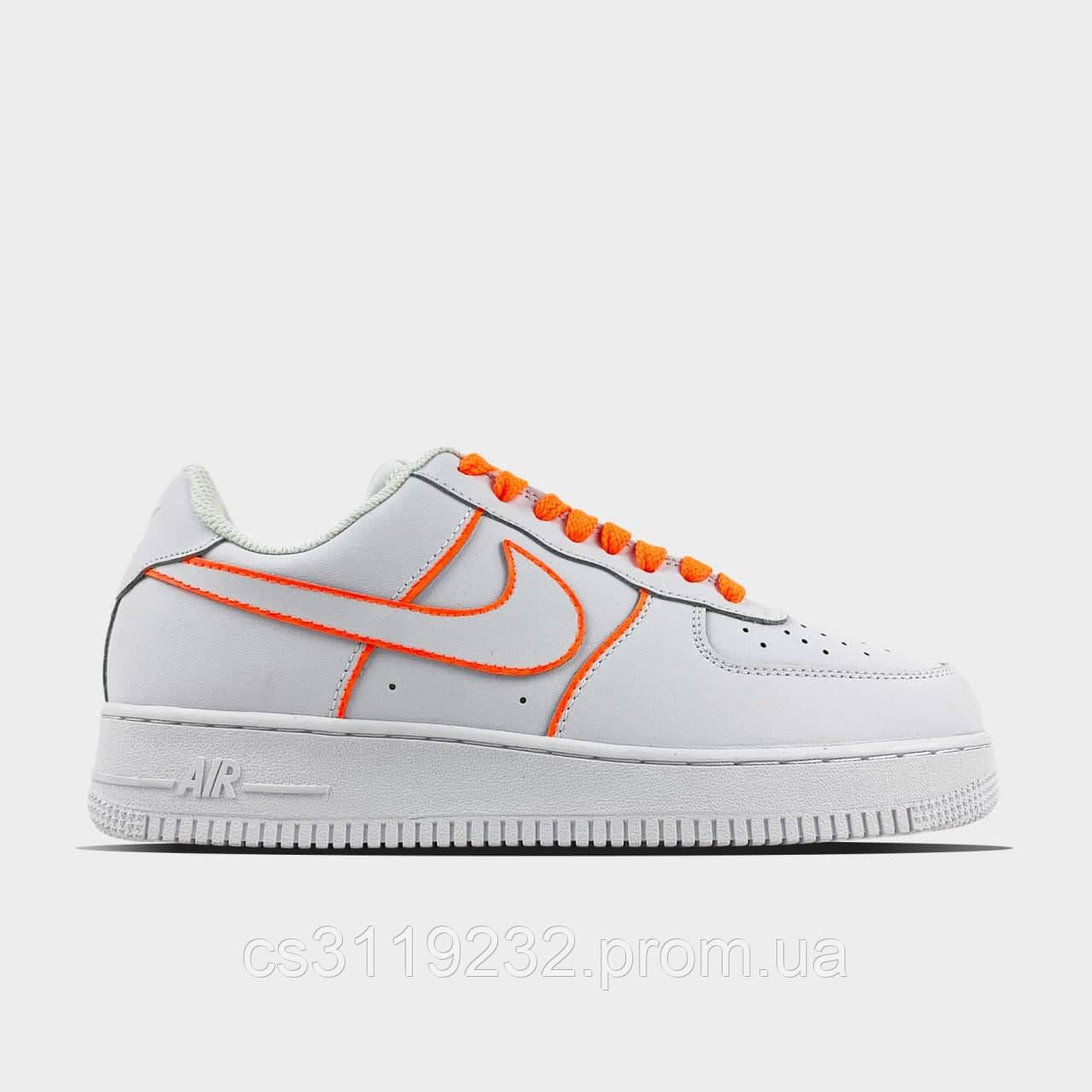 Мужские кроссовки Nike Nike Air Force 1 Low White (белые) 40-45 р.