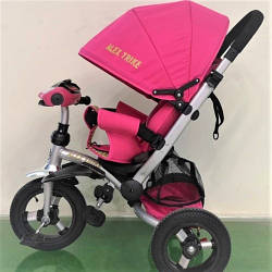 Велосипед трехколесный 698 Розовый