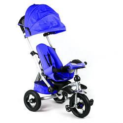 Велосипед трехколесный 698 Синий