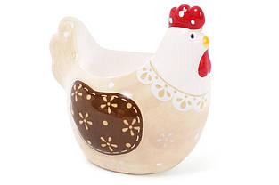 Підставка для яйця Курочка, колір - бежевий, 8см BonaDi DM972-R