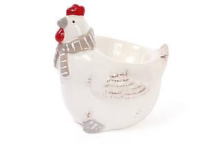 Підставка під яйце Курочка 9.6 см, колір - білий BonaDi 834-725