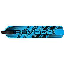 Трюкової двоколісний сталевий дитячий самокат для підлітків SportVida Ravage Black/Blue, фото 3