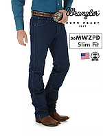 Джинсы мужские Wrangler® 36MWZPD (Prewashed Denim)/ Slim Fit/ 100% хлопок/ из США