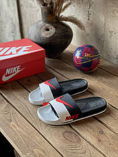 Мужские шлепанцы Nіkе Sport Slide Black/White/Red ALL05803, фото 2
