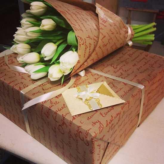 Пакувальна, флористична папір, коробки