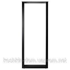 Опора барна в стилі Лофт Loft OP-1411 Чорна Woodin 1100х400мм