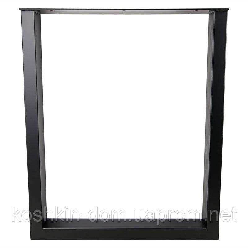 Опора в стилі Лофт Loft OP-0172 Чорна Woodin 720х600мм
