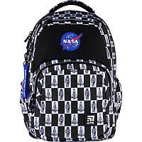 Ортопедический рюкзак в школу серый Kite Education NASA NS21-903L
