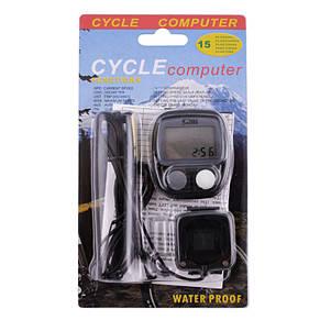 Велокомпьютер SD-536B, waterproof, 15 функций, фото 2