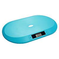 Детские электронные весы до 20 кг голубые BabyOno (5901435409657)