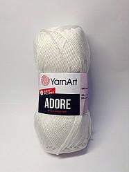 Пряжа Adore YarnArt anti pilling (анти пілінг акрил) - перловий