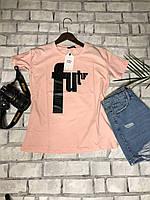 Футболка женская трикотажная для девушек Future размер норма 42-46, цвет уточняйте при заказе, фото 1
