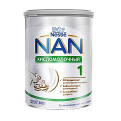 "1041_Годен_до_27.07.21 Nestle ЗГМ з.г.м. ""Нан"" кисломолочний 1 400гр"