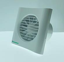 Вытяжной вентилятор ДОМОВЕНТ 100 ТИША Белый 0688045354, КОД: 1869578