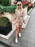 Короткое платье женское трикотаж, фото 2