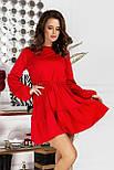 Короткое платье женское трикотаж, фото 4