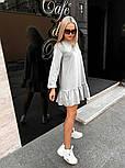 Короткое платье женское трикотаж, фото 5