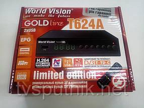 Комплект Ефірний тюнер World Vision T62A + Wi-Fi адаптер