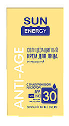 Солнцезащитный крем для лица антивозрастной SPF 30 50 мл