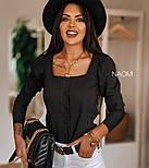 Блуза женская красивая с длинным рукавом, фото 3
