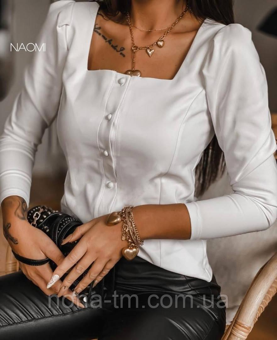Блуза женская красивая с длинным рукавом