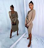 Жіночий костюм трійка з спідницею, топом і кофтою, фото 3