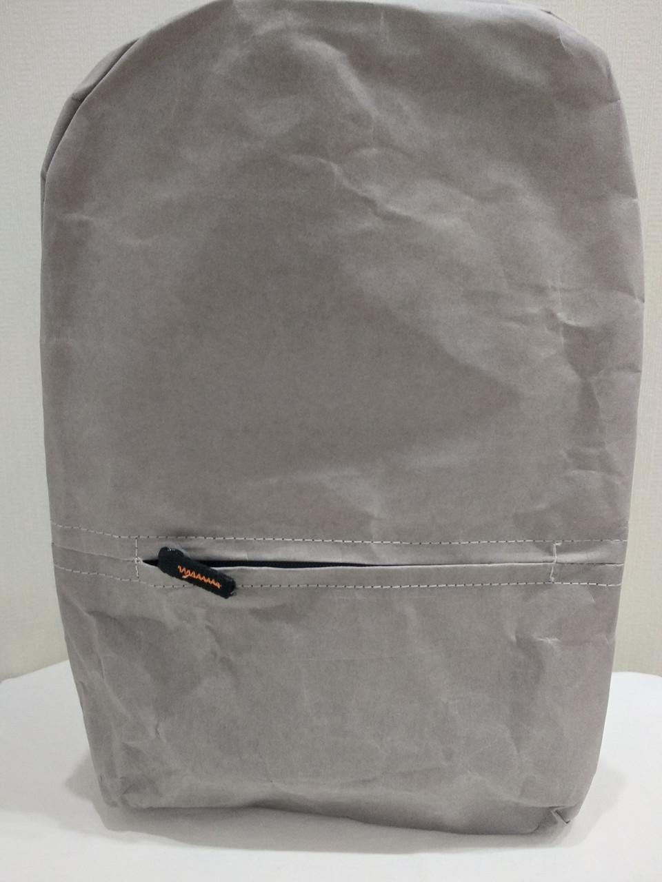Рюкзак бумажный Livergy серый 10 л