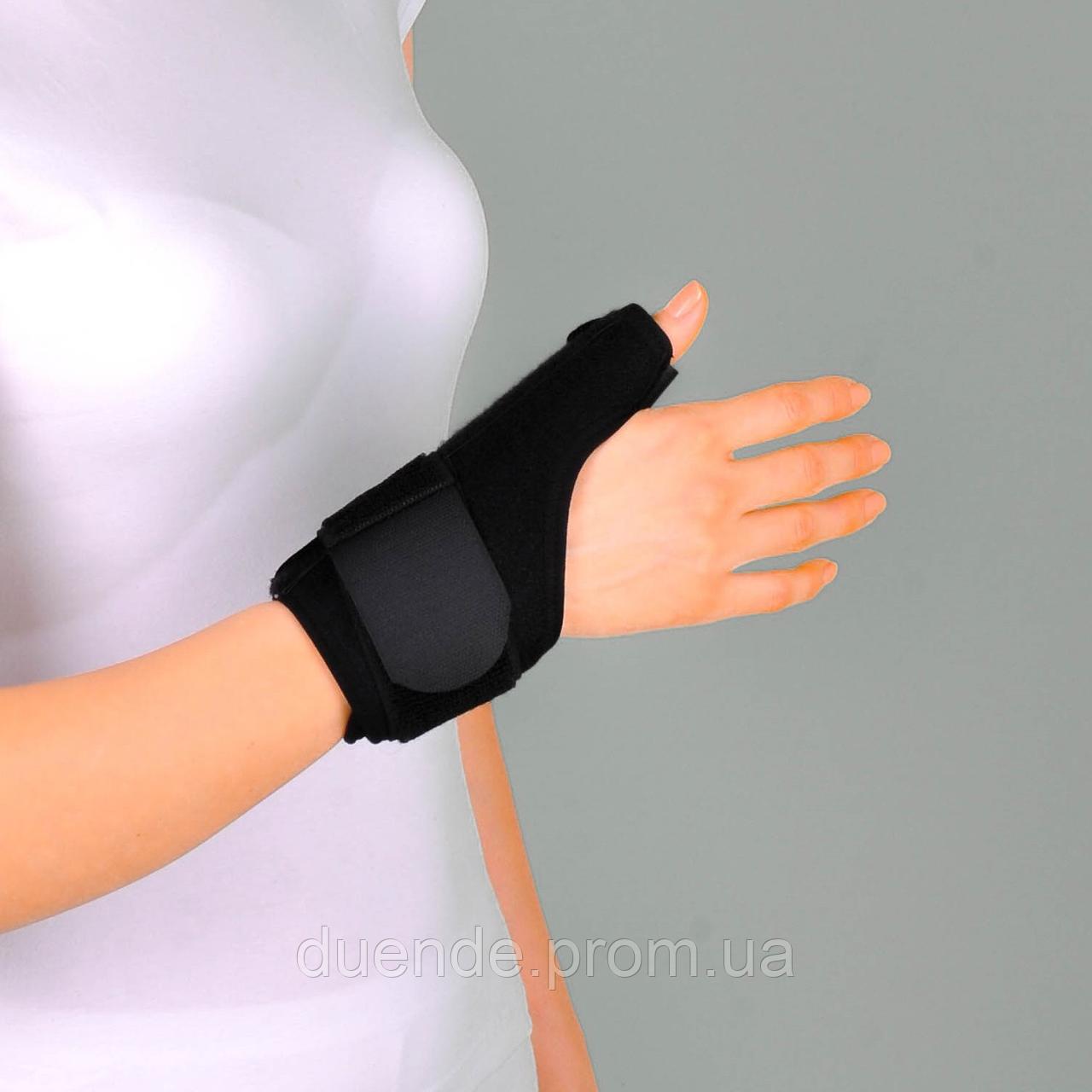 Бандаж неопреновый для фиксации первого пальца руки (Шина де Кервена), универс. - Ersamed ERSA-205