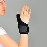 Бандаж неопреновый для фиксации первого пальца руки (Шина де Кервена), универс. - Ersamed ERSA-205, фото 2