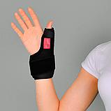Бандаж неопреновый для фиксации первого пальца руки (Шина де Кервена), универс. - Ersamed ERSA-205, фото 3