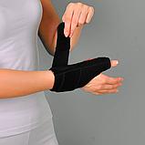 Бандаж неопреновый для фиксации первого пальца руки (Шина де Кервена), универс. - Ersamed ERSA-205, фото 4