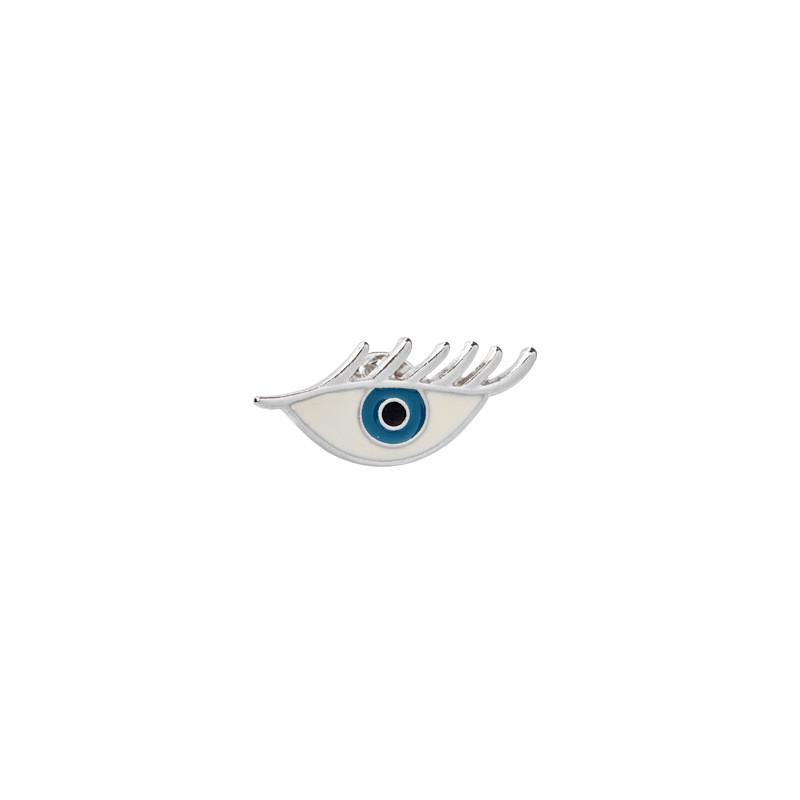 Значок металевий Пін Pin City-A Очей з ресницей №1838