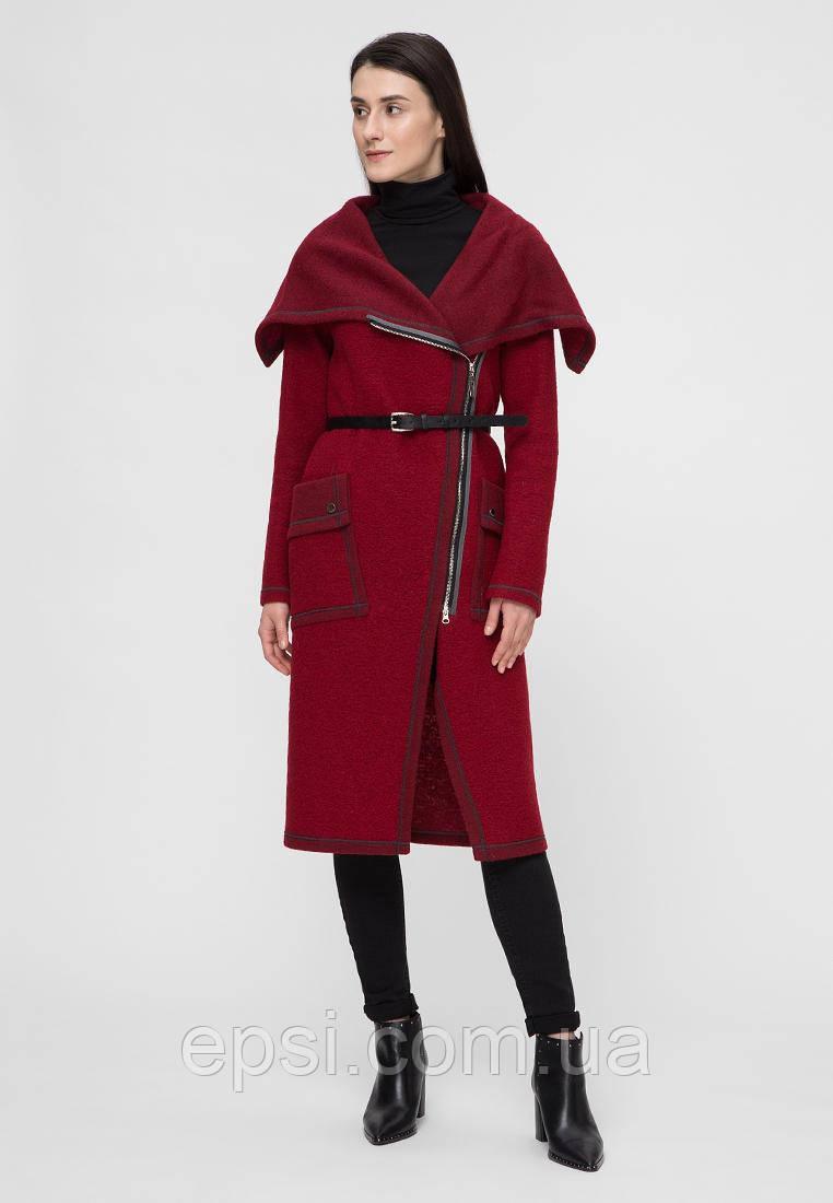 Пальто жіноче Victoria Bloom бордове S