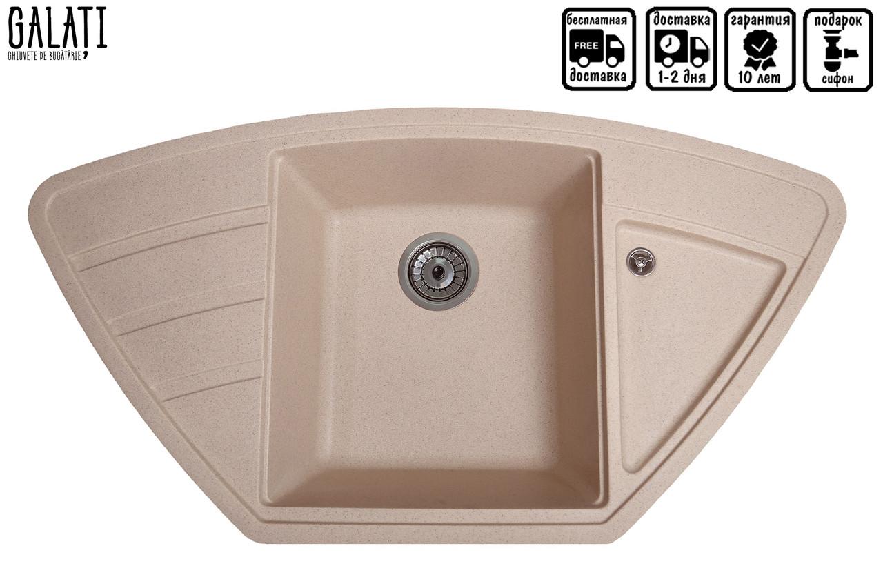 Кухонна мийка Galati Jorum 98B Piesok (301)