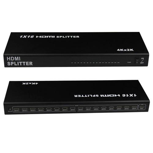 Коммутатор HDMI 1x16 портов, 4K, 3D, сплиттер, разветвитель, 100560